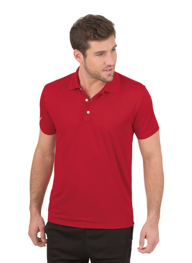 Herren Polo-Shirt COOLMAX Größe: 4XL Material: 100 % Polyester Farbe: kirsch
