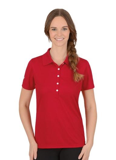 Damen Polo-Shirt COOLMAX Größe: L Material: 100 % Polyester Farbe: kirsch