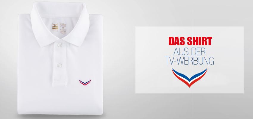 Das Shirt aus unserem Werbespot
