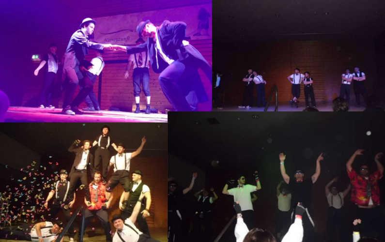 Der Showtanz: Ein Thema wird zu verschiedenster Musik tänzerisch dargestellt.