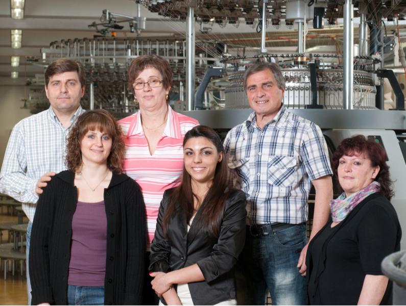 Familie Bruno, die zusammenaddiert seit 153 Jahren mit ihrem Fleiß und Engagement dem Unternehmen die Treue hält.
