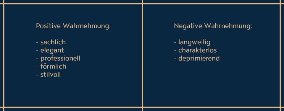 Die Eigenschaften von Grau