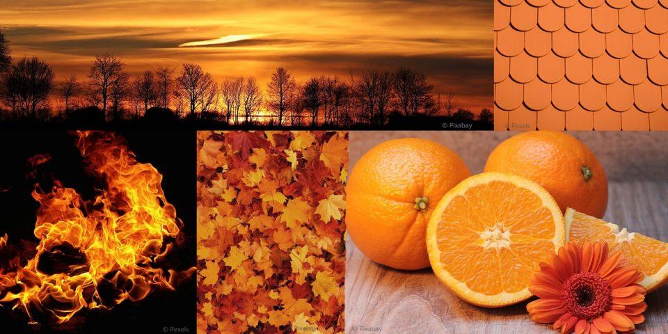 Die Bedeutung von Orange in der Farbpsychologie