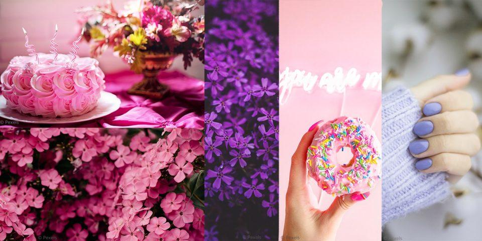 Die Bedeutung von Pink und Lila in der Farbpsychologie