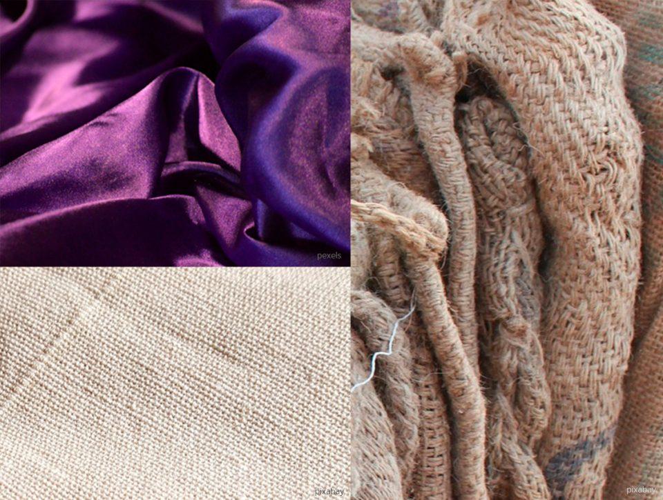 Ökologisch nachhaltige Kleidung besteht häufig aus Naturfasern wie zum Beispiel aus Baumwolle oder Leinen