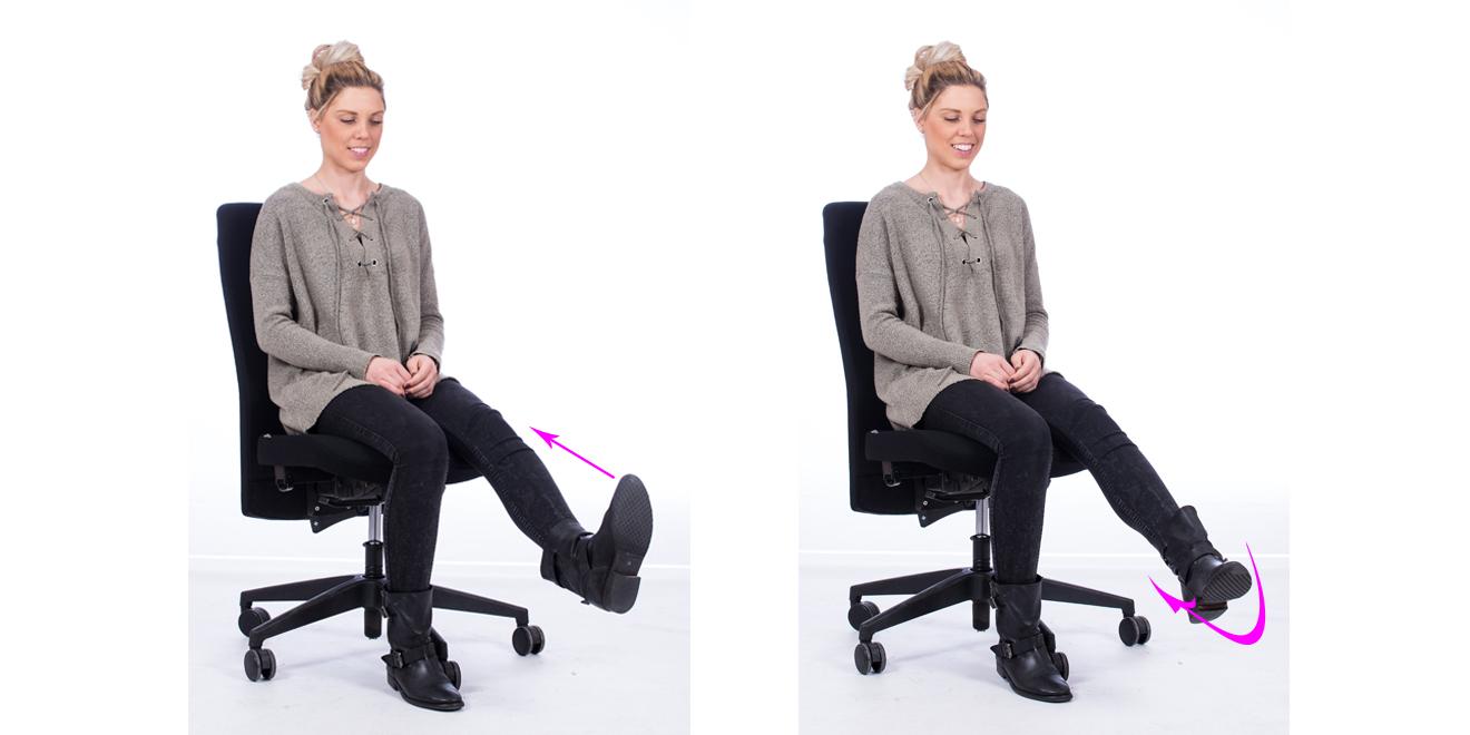 Stress, Entspannungsübungen im Büro, Alltag, Stressbewältigung, Entspannung, Übungen fürs Büro, Beine, Venen