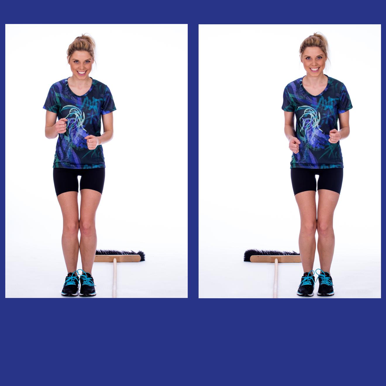 Skigymnastik Übungen, Sommertraining für zu Hause, Übungen ohne Schnee, Skifahren, Skitraining für den Sommer