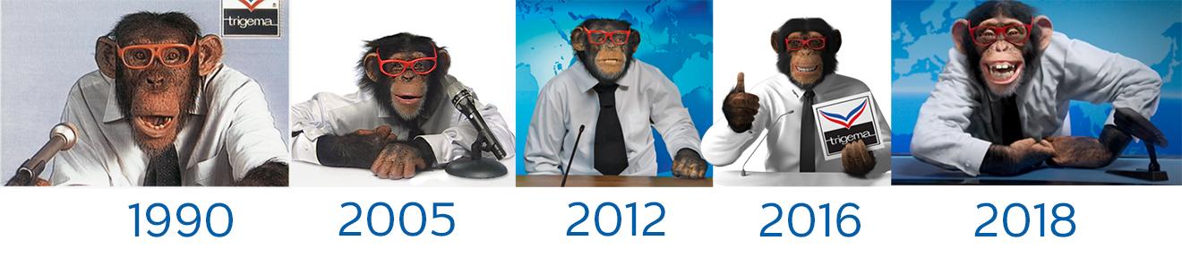 TRIGEMA Werbespot, neuer Werbespot, Affe, Schimpanse, Charly, Affen-Spot, Wolfgang Grupp, Werbespot, TRIGEMA Werbefilm