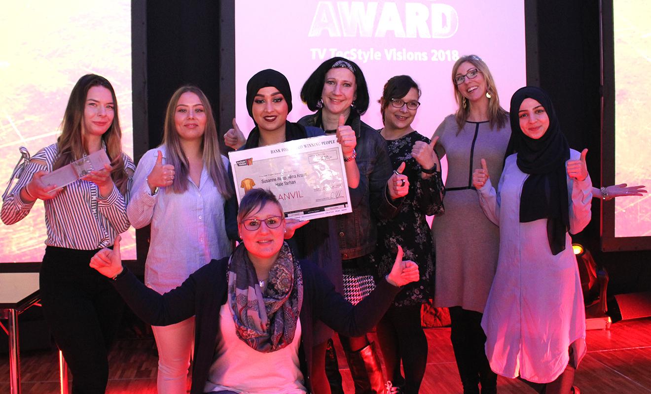 Golden Shirt Award, Azubi, Tec Style Visions, TVP; Preisverleihung, Sieger, T-Shirt, Veredelung