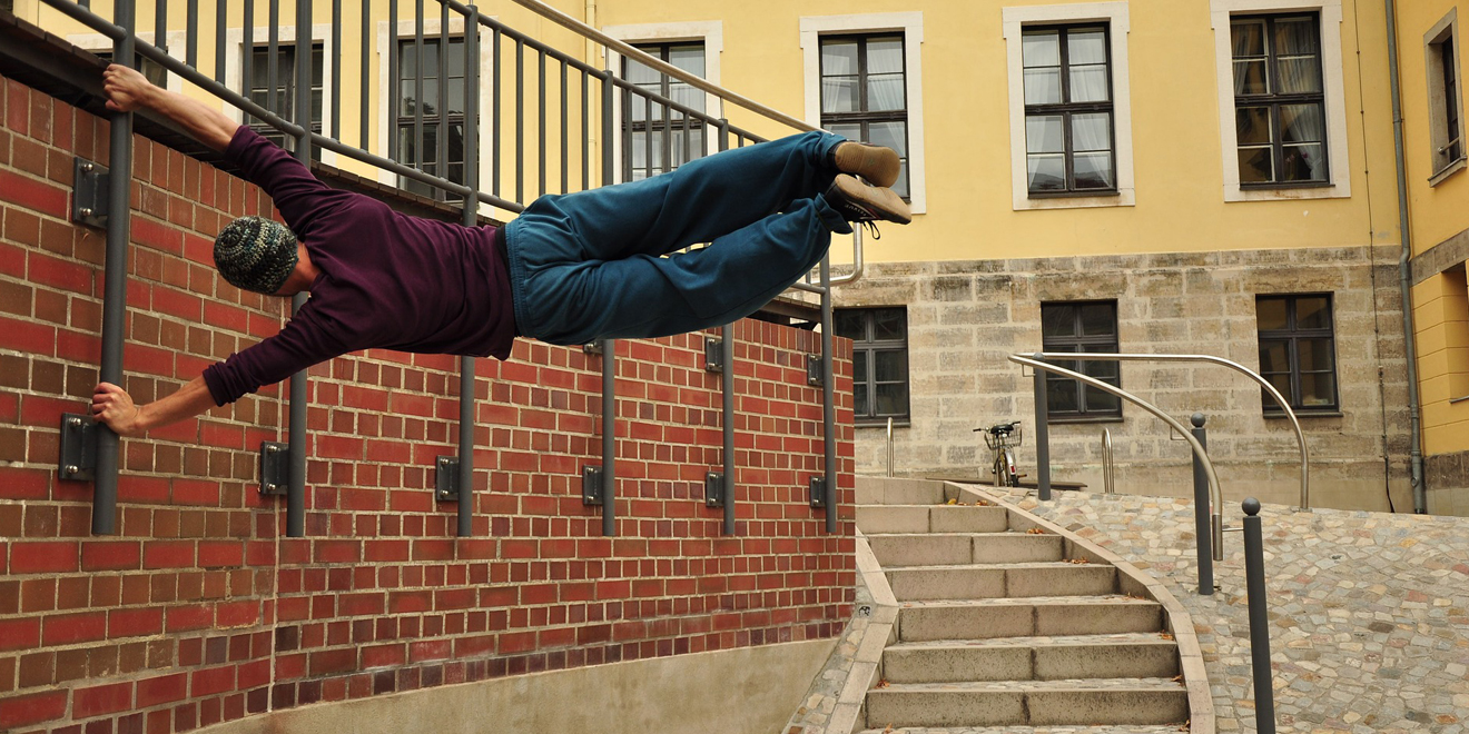 Trendsport 2018, Sport, trend, Funsport, Fitness, Sporttrends 2018, Parkour