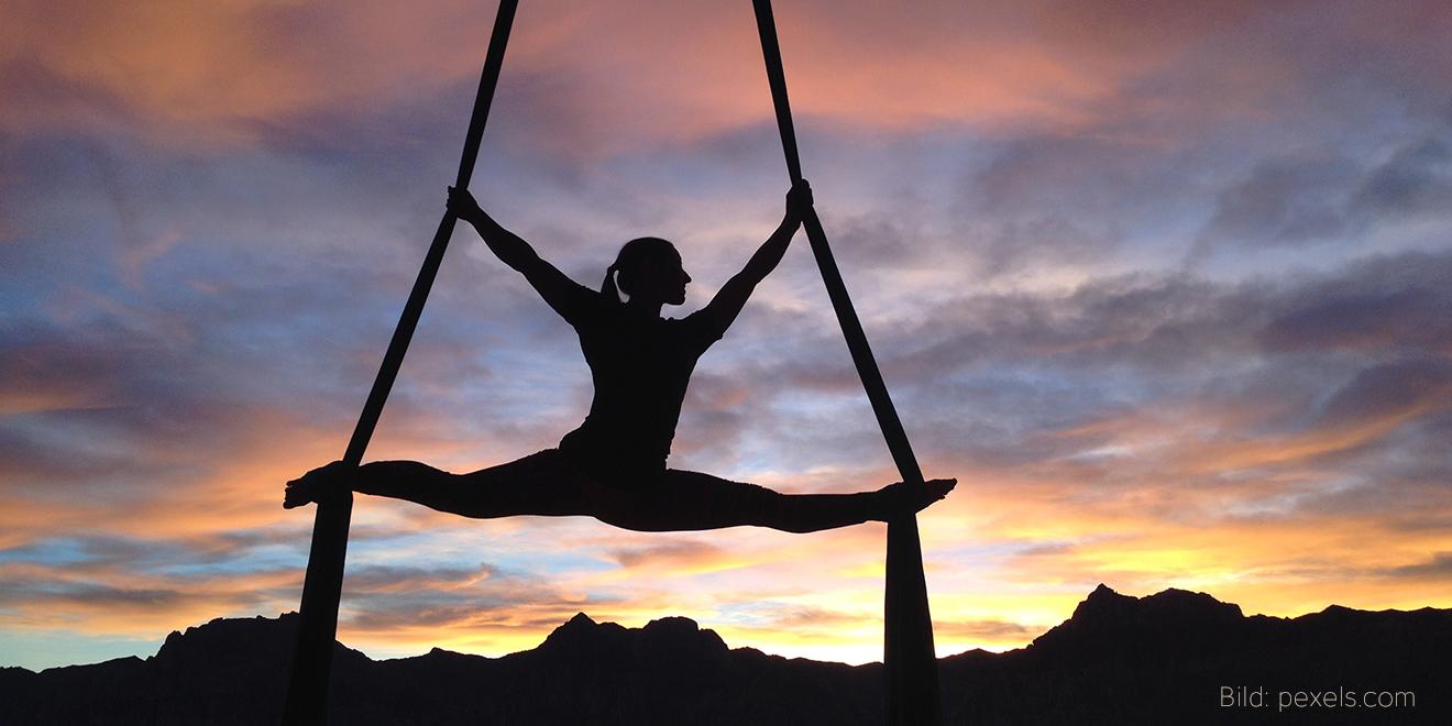 Yoga, Yoga Arten, Yoga Form, Yoga Richtungen, Training, Sport, Anti Gravity Yoga, Aireal Yoga