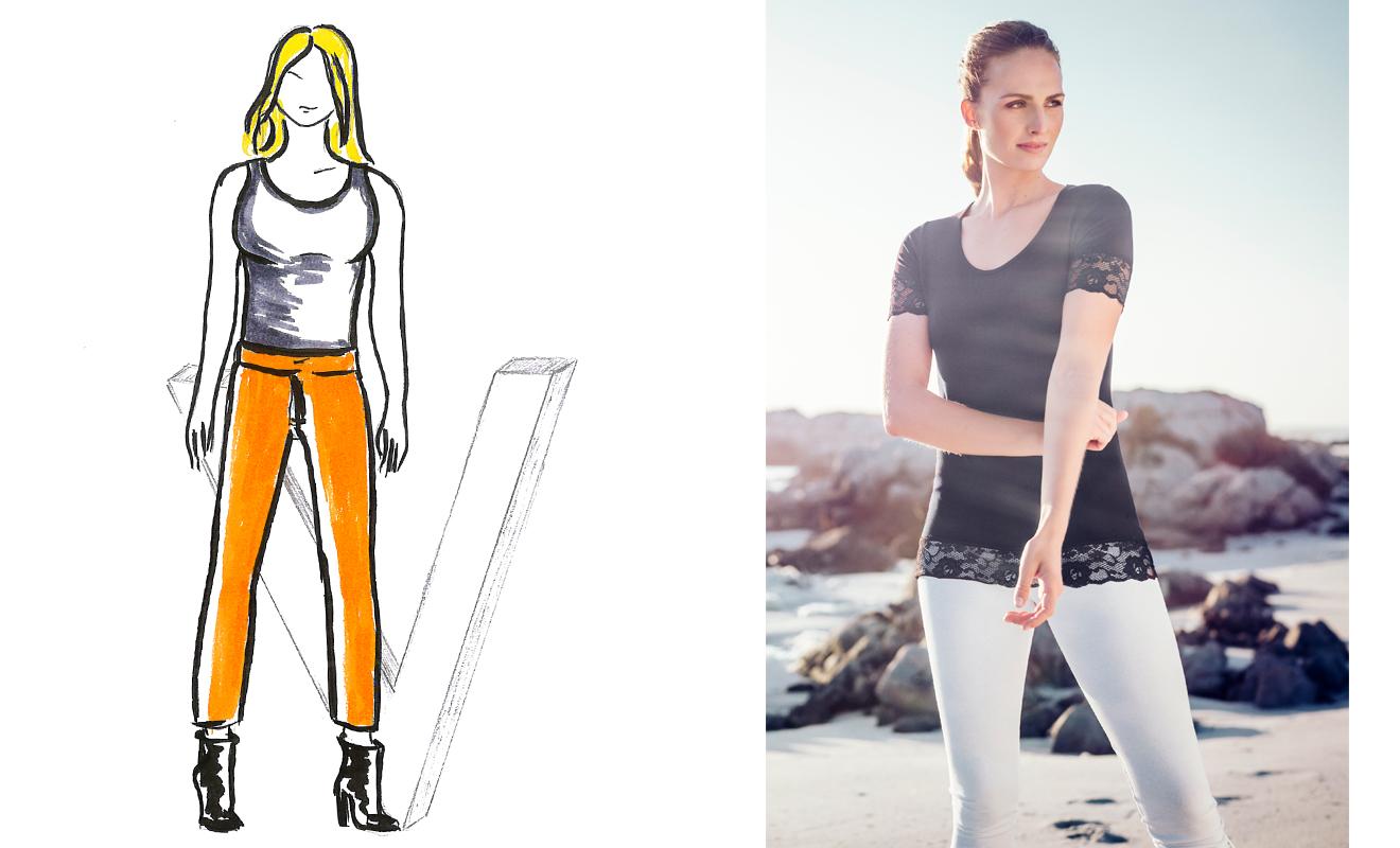 Figurtyp, Kleidung Figurtyp, Tipps zu Figurtypen, Körperform, A-Typ