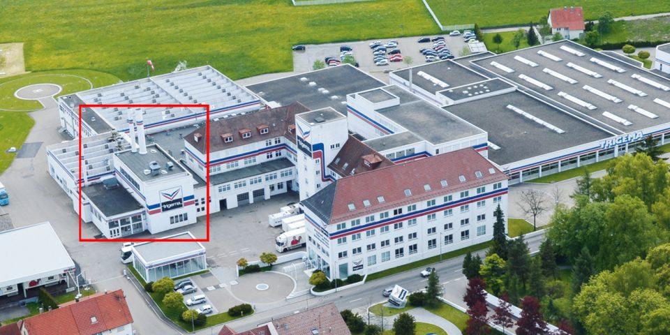 Kesselhaus von TRIGEMA in Burladingen