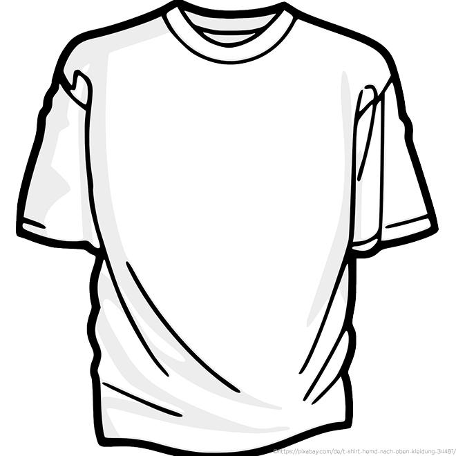 Das klassische T-Shirt wie wir es heute kennen