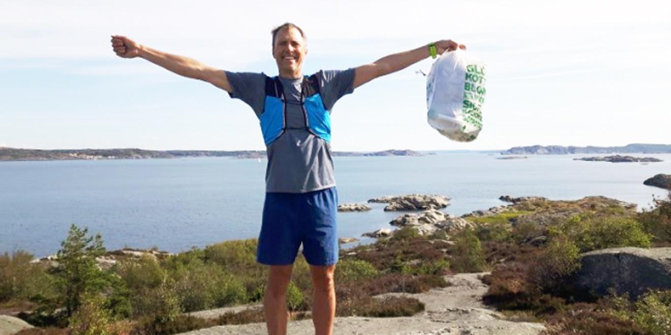 Der Plogging-Erfinder Erik Ahlström