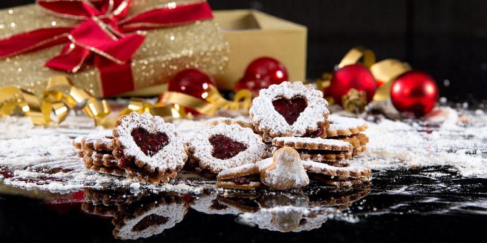 Linzer Weihnachts-Plätzchen