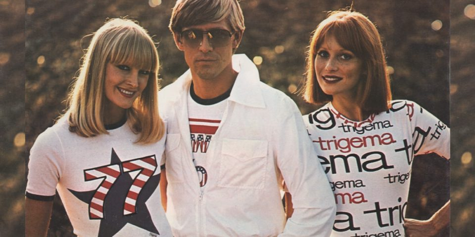 TRIGEMAs modische Freizeitmode in den 70er Jahren.