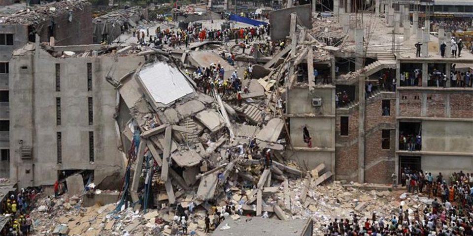 Rana Plaza Unglück in Bangladesch. Der Ursprung für die Fashion Revolution.