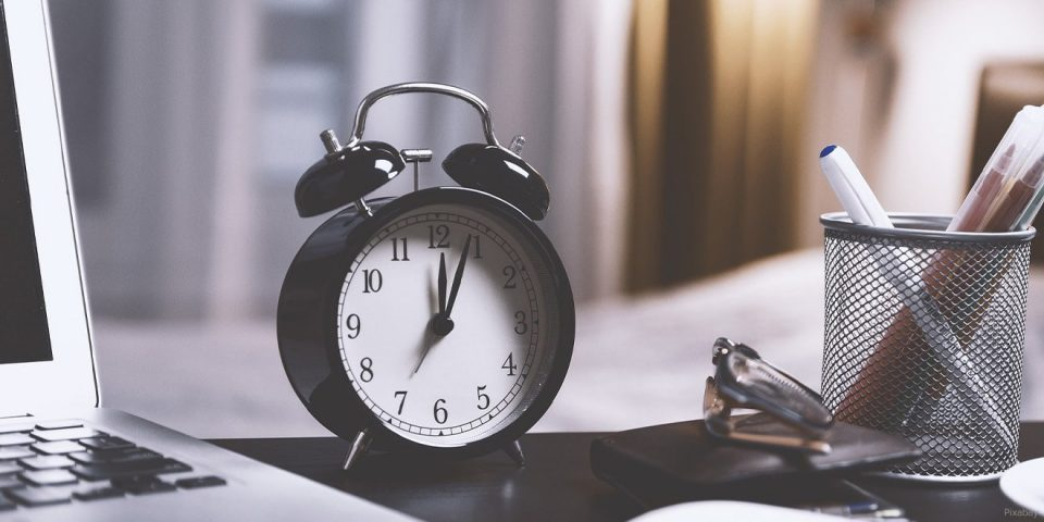 Zeitmanagement verhindert Stress