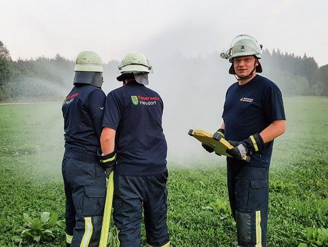 Feuerwehr Horndorf trägt Corporate Fashion von TRIGEMA