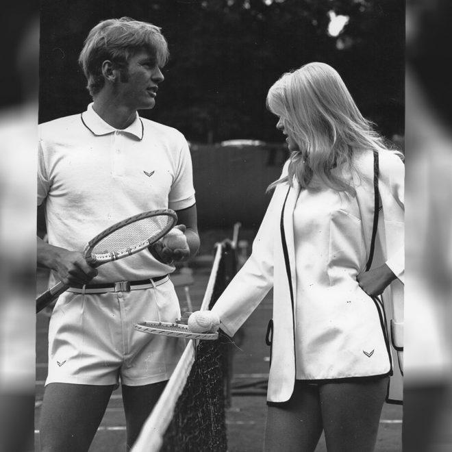 Tenniskollektion von TRIGEMA 1970