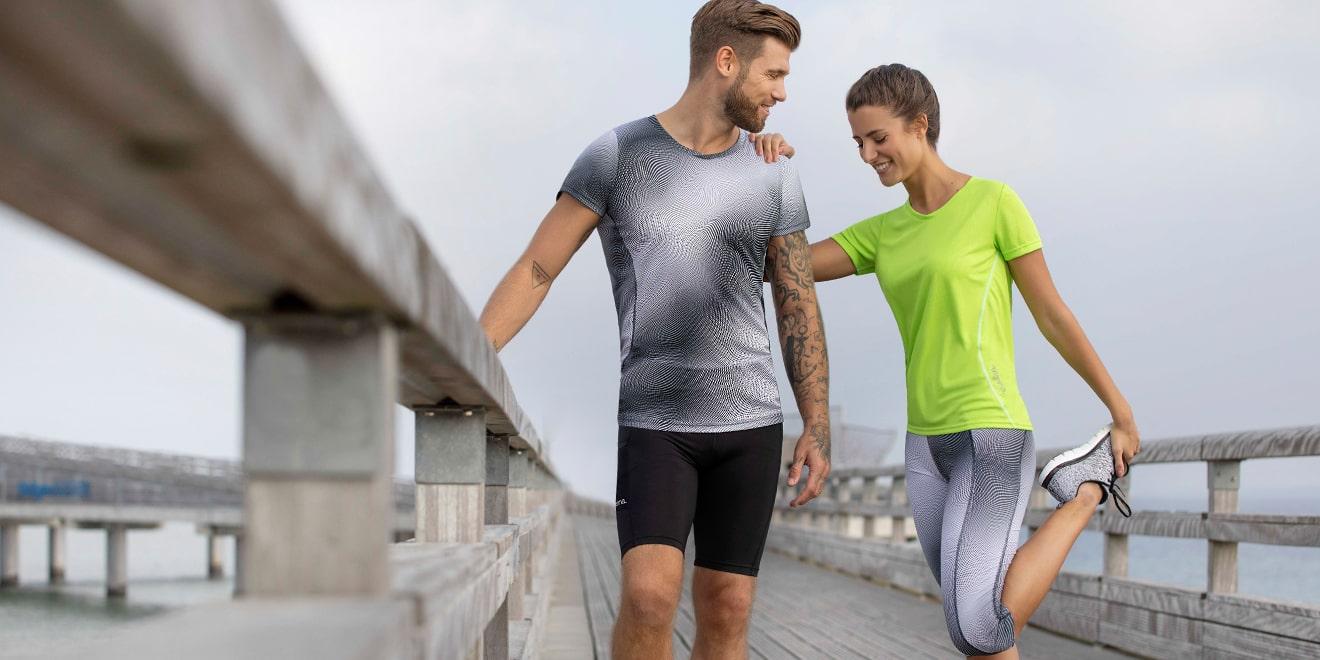 Dehnen nach dem Sport sorgt für schnelle Regenerierung