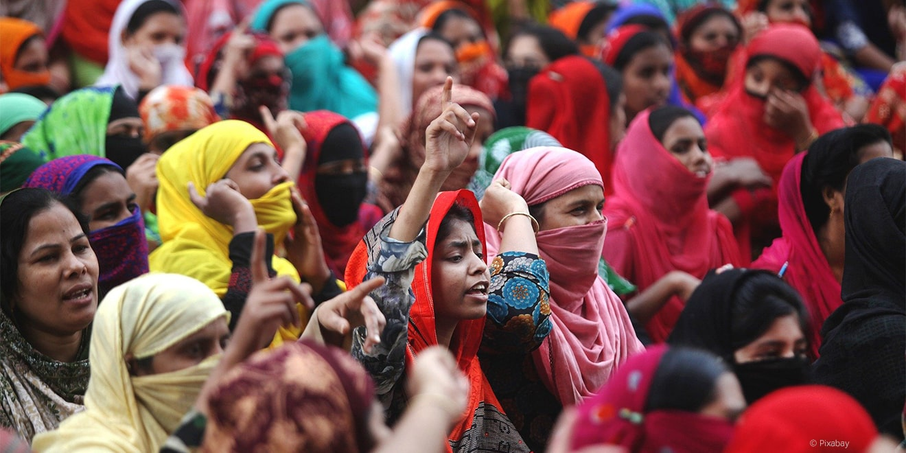 Nicht zuletzt die Diskriminierung der Frau sind keine Einzelfälle.