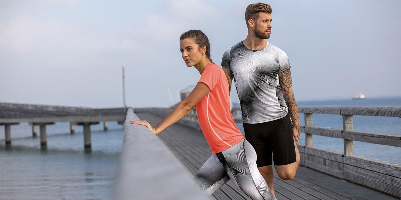 Dehnen beugt Verletzungen vor. Sowohl beim Laufsport als auch in anderen Bereichen.
